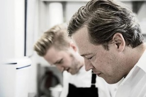 Hans Horberth und Sous Chef Hendrik Olfen Copyright © by Hans Olferth